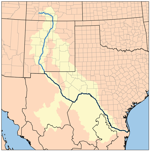 The Rio Grande is a big river that flow from the south of the US all the way to the north and therefor its length is about 3034 Long.The river creates the border between Texas US and the Mexican border.www.mysupertours.com.....#texas #riogrande #river #us